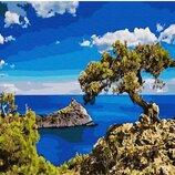 Картина по номерам. Brushme Побережье Кипра GX30162. Брашми.
