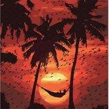 Картина по номерам. Brushme Релакс на пляже GX30567. Брашми.