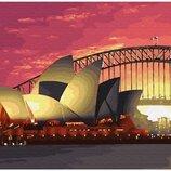 Картина по номерам. Brushme Сиднейская опера GX28781. Брашми.