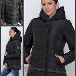 44,46,48,50, Зимняя куртка, с капюшоном, Женская зимняя куртка. Молодежная куртка. Зимова жіноча