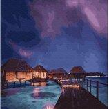 Картина по номерам. Brushme Сказочные Мальдивы GX28892. Брашми.