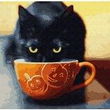 Картина по номерам. Brushme Счастливый котик GX30207.