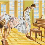 Картина по номерам. Brushme Балерины на разминке GX8517. Брашми.