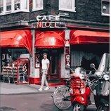 Картина по номерам. Brushme Уличное кафе в Париже GX25368. Брашми.