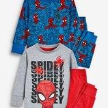 Набор из 2 облегающих пижам Spider-Man