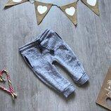 Спортивные штаны с небольшим начесом 12-18 месяцев
