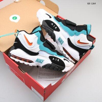 Бесплатная доставка. Как оригинал. Кроссовки Nike Sportswear Air Max Speed Turf бело-бирюза KS 1264