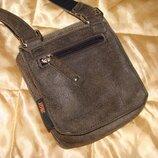 маленькая наплечная сумка JOST мужская оригинал кожа Hermes Chanel