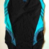 10-12 adidas стильный спортивный цельный купальник для бассейна