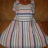 Красивенное платье большой размер 20-22р.