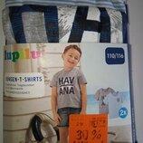 Комплект футболок Lupilu, 2шт. - р.110-116см