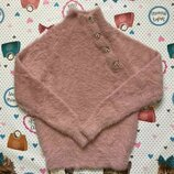 Пушистый свитер на девочку,детский свитер,свитер для девочки