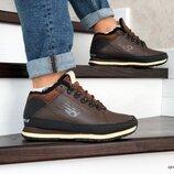 Зимние мужские ботинки New Balance 754 коричневые