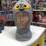 Шапка-Шлем детская,зима Тм Бабасик