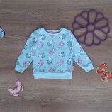 Теплый свитшот-свитер с Пеппой