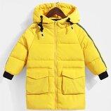 Зимний пуховик пальто зимнее для мальчика для девочки зимнняя куртка на девочку на мальчика 410162