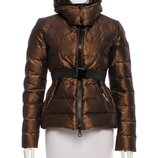 теплая золотаЯ куртка Moncler Zorille Metallic Puffer Jacket 8-9 ле Оригинал