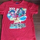 Модная футболка для мальчиков Beyblade Дисней