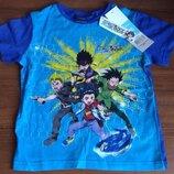 Синяя футболка для мальчика Beyblade