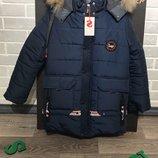 Подростковая зимняя курточка для мальчиков от производителя 36 - 42р.