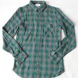 рубашка фланель Pull&Bear м