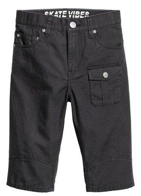 Хлопковые фирменные мужские шорты H&M