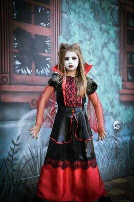 Вампирша карнавальный костюм, Карнавальный костюм на Хэллоуин, Хэллоуин карнавальные костюмы
