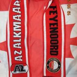 Спортивний оригинал футбольний шарф финал 2018 года Голандии Феенорд -Алкмар .