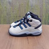 Кожаные ботинки кроссовки Adidas 22 р. Оригинал