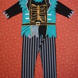 Продаю Размер L, Мужской карнавальный костюм Пират, Зомби, Хеллоуин, Halloween, George, б/у.