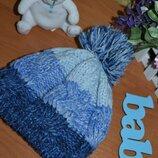 Зимняя шапка 3-6 мес., детская зимняя шапка, шапка для новорожденного, зимняя шапка, шапка на флисе