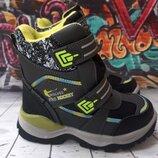 Термо ботинки для мальчика Том. м, код 801