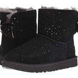 Женские Ugg Stargirl bow mini boots 8US 38-39 размер угги Оригинал