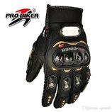 PRO-BIKER MCS - 01C Мотоциклетные Велогоночные Гоночные Перчатки с Перфорацией/оригинал