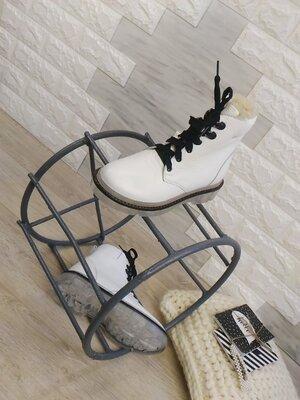Распродажа зимы Зимний женские ботинки, натуральная кожа