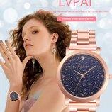 Оригинальные стильные модные женские часы Lvpai