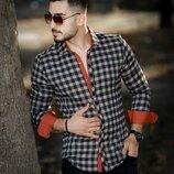 Утеплённые мужские рубашки Тм Rubaska.