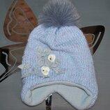 Зимняя шапка olta 54 см песец