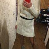 Актуальное вязаное платье косы фирмы pimkie