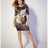 Шикарное стрейчевое платье футляр simply be размер 20