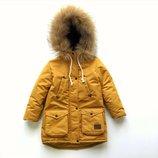 Парка курточка детская, р. 80 -134, в ассортименте