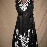 Красивенное платье Debut р-р10