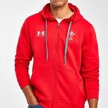 Толстовка с капюшоном и символикой сборной Уэльса по регби Under Armour