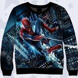 Яркий Крутой 3D Spiderman 6-7 лет Замеры внутри