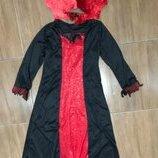 Ведьма Вампир Королева 8-9 лет костюм