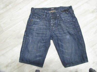 Шорты мужские джинсовые 46-48 размер M