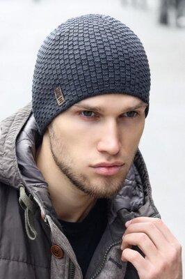 мужская шапка, зима