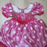 карнавальное. нарядное платье Минни от Дисней 3 года Disney