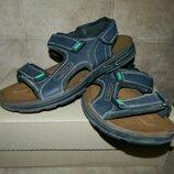 Босоножки сандали мужские тёмно-синие Fashion Размер 44.