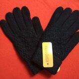 Перчатки айфон чёрные